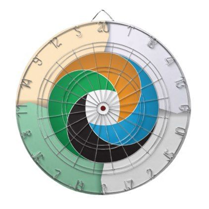 Business Circle Dartboard With Darts - business template gifts unique customize diy personalize