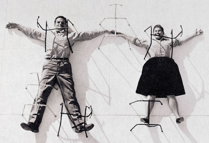 Charles & Ray Eames (mixing talent and fun)