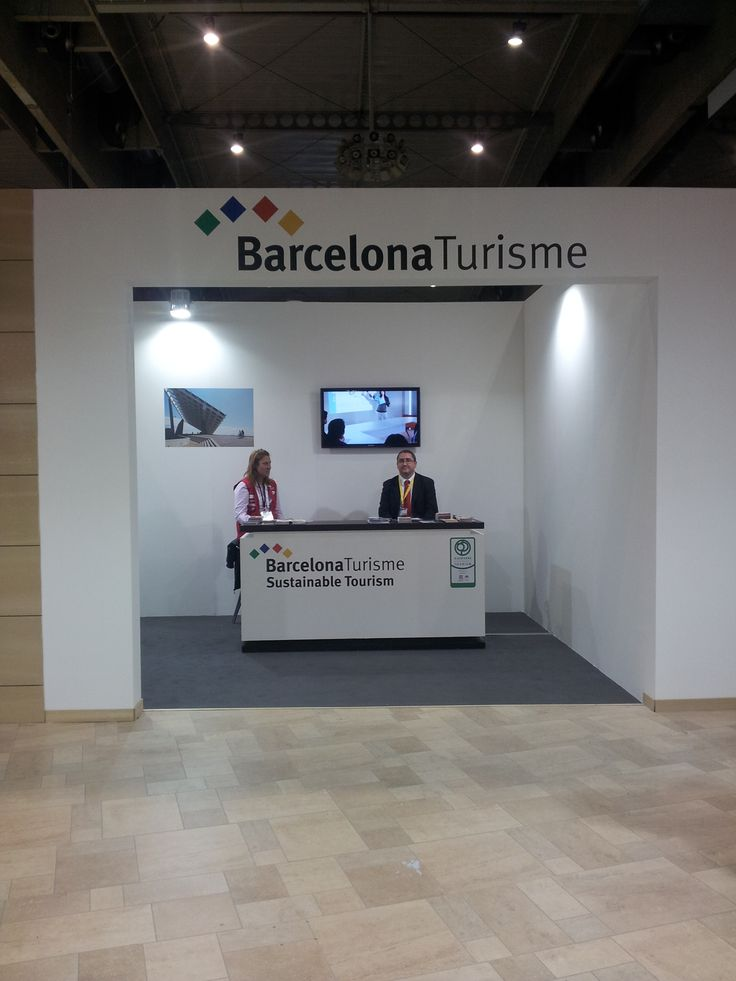 Smart City Expo World Congress 2013 - Stand Barcelona Turisme