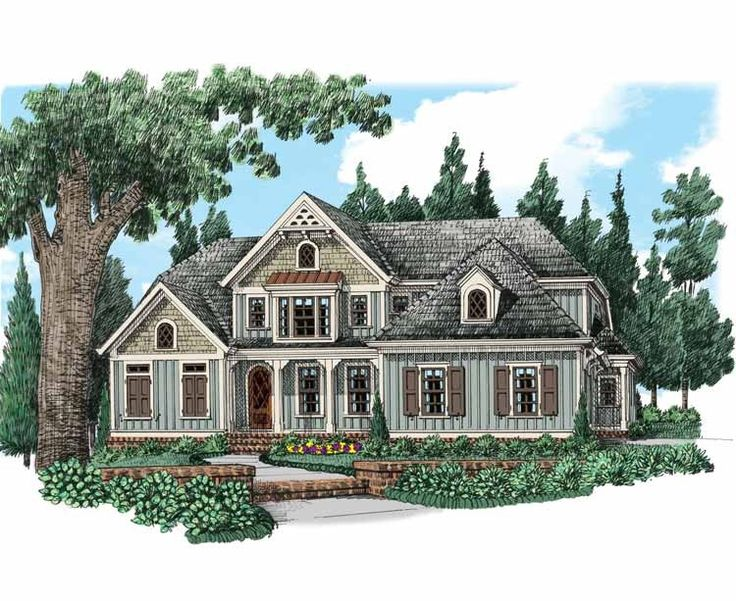 Eplans cottage house plan luxurious master suite 2828 for Eplans cottage house plan