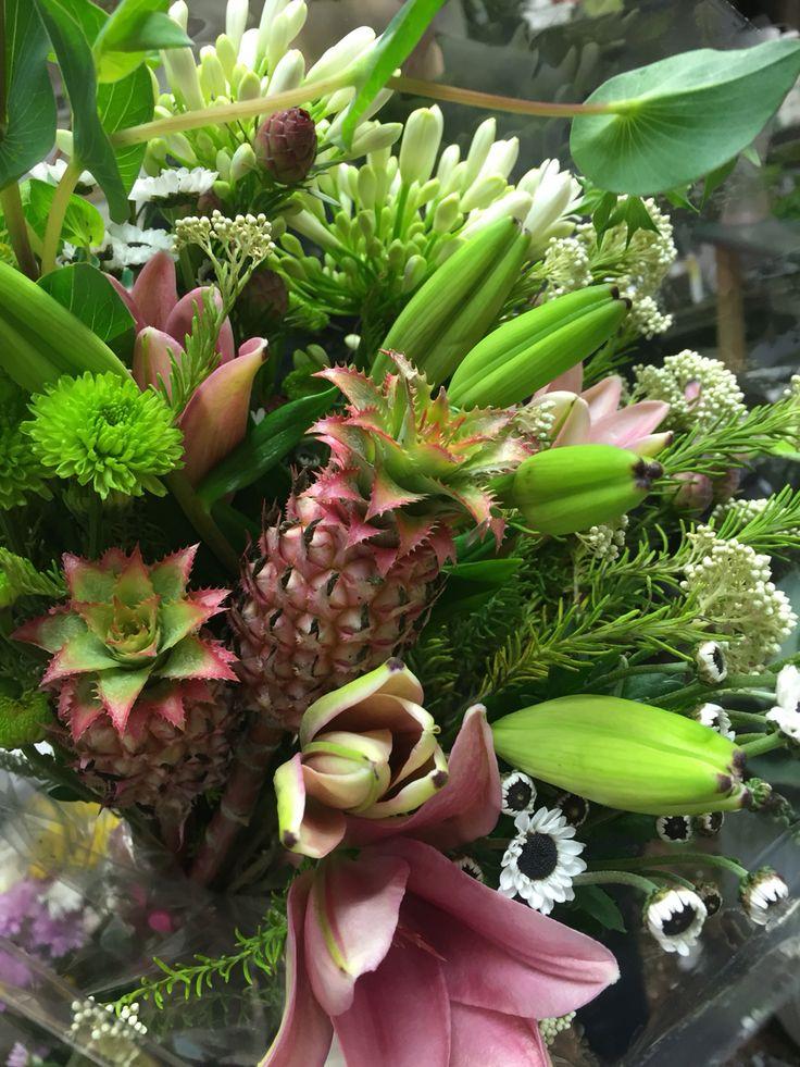 Pineapple bouquet!