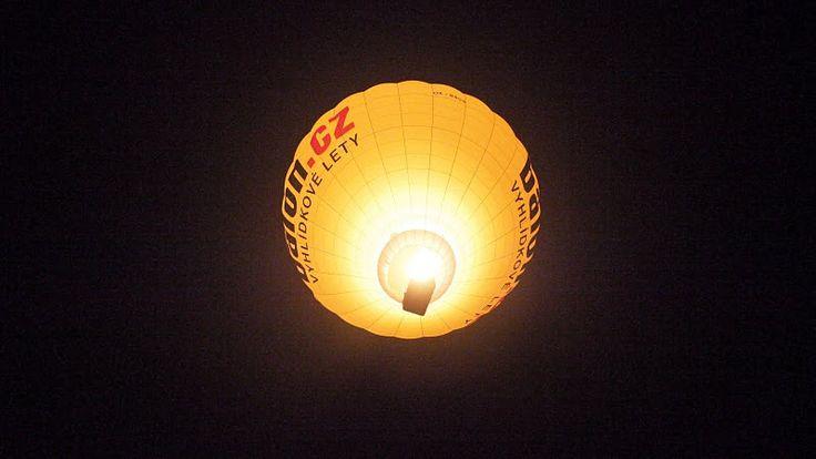 Noční let s Balon.cz