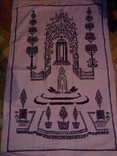 Elyapımı Hobi Diğer Ev Tekstilleri Etamin Işleme Seccade