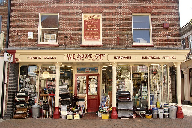 Old Fashioned Ironmongers, Poole High Street, Poole, Dorset by dorsetbays, via Flickr
