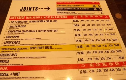Cafe De Klos Prices