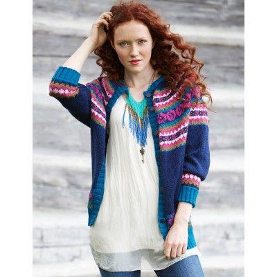 Free Experienced Women's Cardigan Knit Pattern