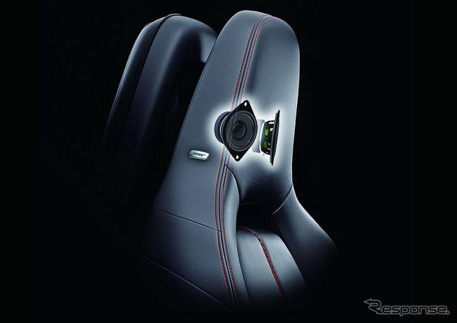 マツダ ロードスター 新型の Bose サウンド