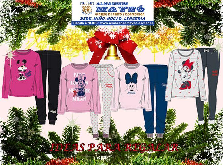 IDEAS PARA #REGALAR! Para #Navidad os gustará un #regalo como estos pijamas para ella de #terciopelo, #coralina o #algodon #tiendaonline : www.almacenesmayso.es/tienda #shoponline #textilhogar #ropabebé #complementosbebé #lenceria #ropamujer #ropahombre #ropaniños #ropaniña #regalosnavidad #regalosoriginales #disney #minnie #pijama
