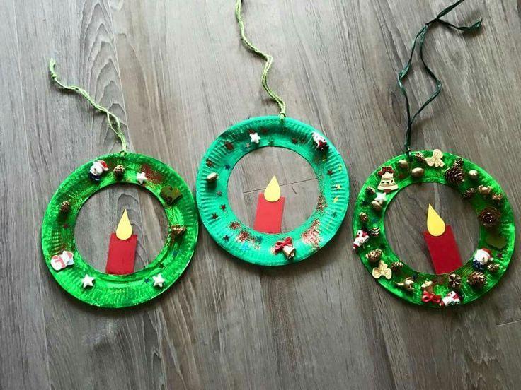 Kerzen-Kränze. Gefunden auf Facebook :) – #auf #F…
