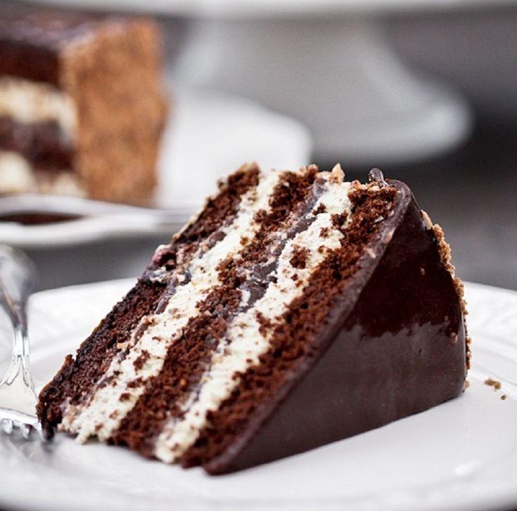 Вкусный шоколадный торт, лучший рецепт | Вкусные торты ...