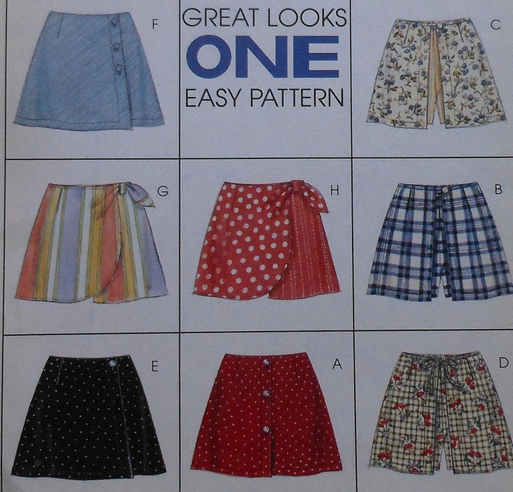 60 Best Sewing Images On Pinterest Factory Design Pattern Sewing New Skort Pattern