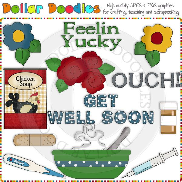 clip art get well pictures - photo #14