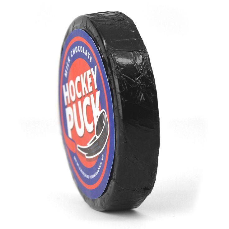Chocolate Hockey Puck