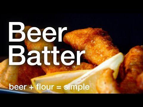 Easy Beer Batter Recipe — Dishmaps
