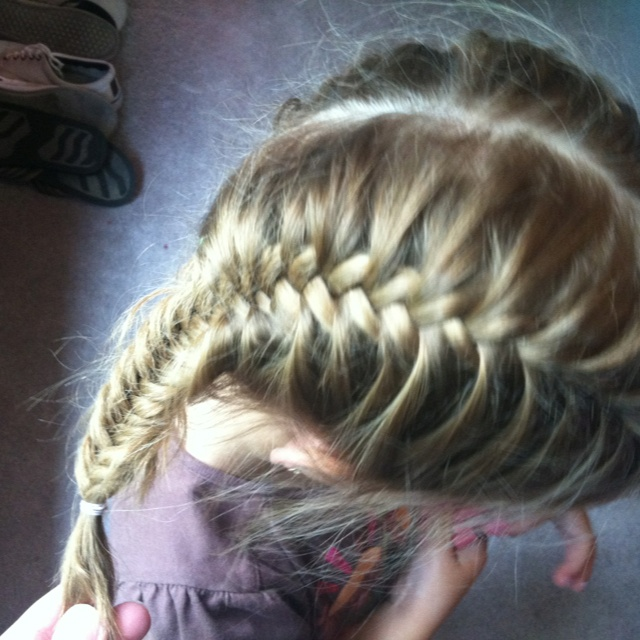 French Fishtail Pigtails Hair Pinterest French