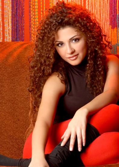 myriam fares curly hair women hot