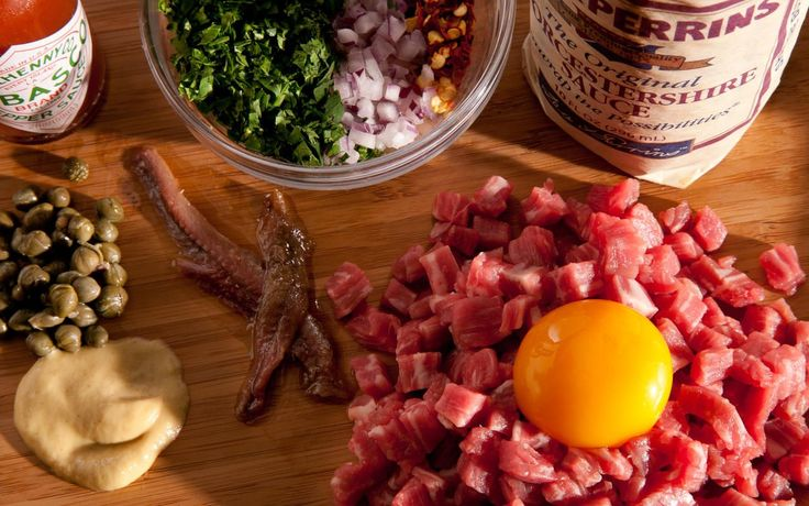 Steak tartare is usually associated with both Parisian bistros and the Tartars who gave the dish its name, but it goes well beyond that. If you are able to get...