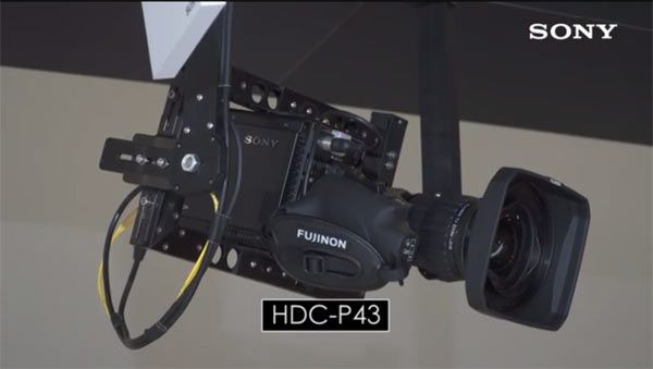 Sony HDC-P43 4K with Fujinon lens. Sony HDC-P43 4K/HD POV Camera for 4K Live Sports Production Workflow: Lightweight, Compact, Three-Chip 2/3 Inch 4K Image Sensor, 2x Slow-Motion at 4K, and 8x Super-Slow Motion in HD http://www.photoxels.com/sony-hdc-p43/