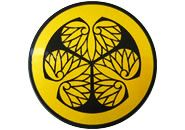 This is the crest of Tokugawa Shogun Clan which had virtual control of all Japan for about 300 years.