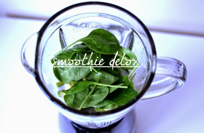 Style Cookbook: {fit tip} 3 denní smoothie očista