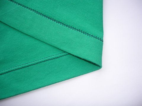 Sewing a hem on a t-shirt. Wow if this really works, it would be incredible. Must try this out very soon.