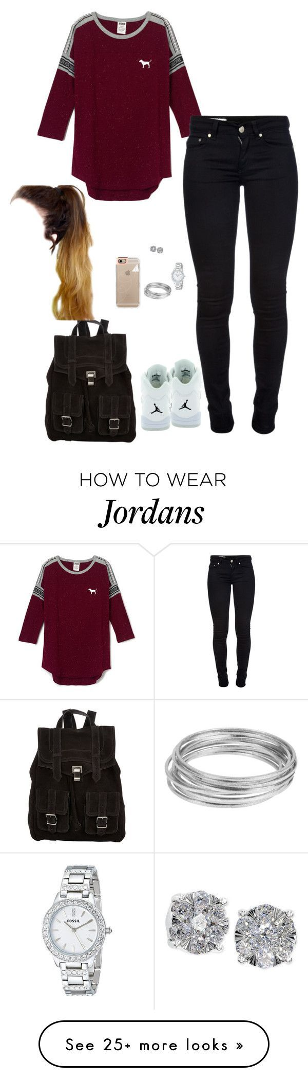 """"""".."""" by princessteauna on Polyvore featuring Dondup, Retrò, Effy Jewelry, Casetify, Worthington and Proenza Schouler"""