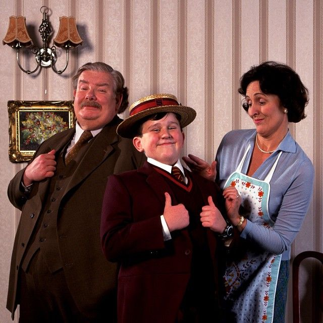 """""""The Dursleys want to be ordinary, average, and normal, and Harry Potter prevents the possibility of all this, which is terrifying to them."""" - Richard Griffiths #HarryPotter #UncleVernon #Dursleys #RIPRichardGriffiths"""