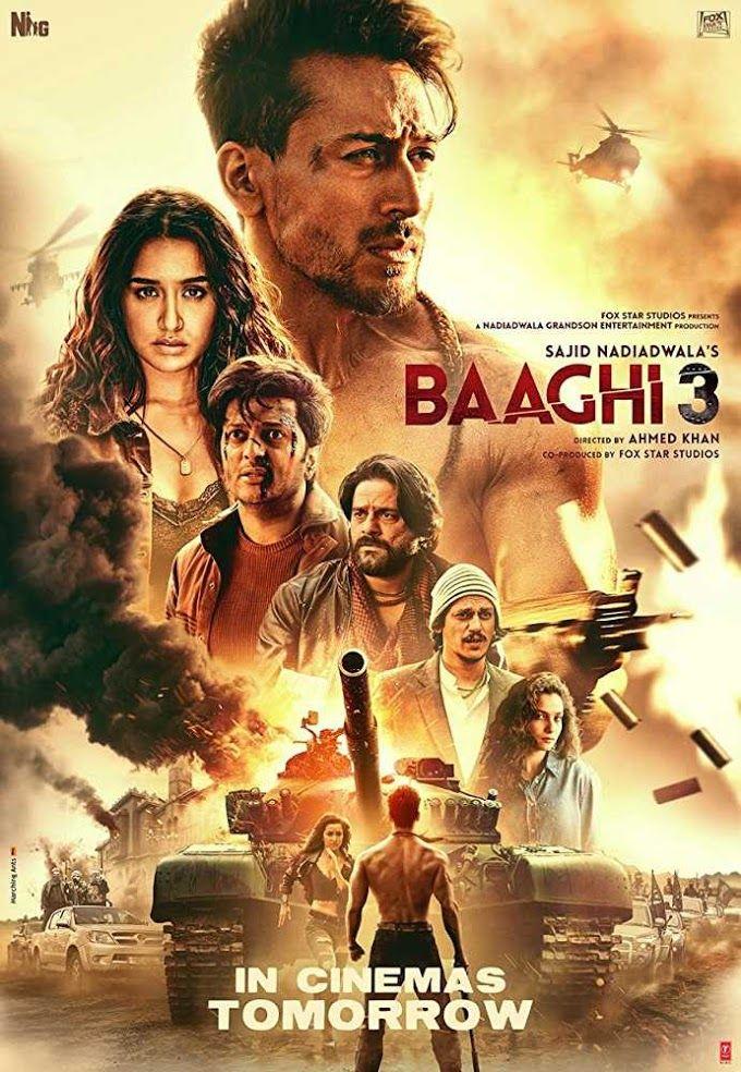 Baaghi 3 2020 Hindi Movie 720p Pdvdrip 900mb Download Hindi Movie Film Latest Hindi Movies Hindi Bollywood Movies