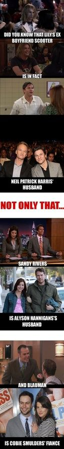 How I met your mother... These facts are a mind grenade