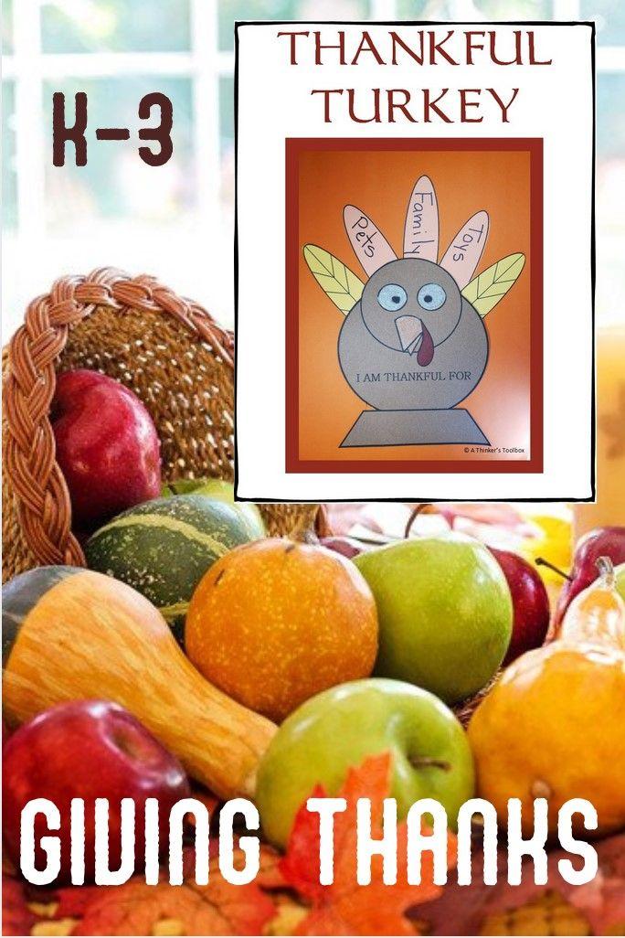 Thankful Turkey In 2020 Thanksgiving Writing Activity Kindergarten Activities Fall Writing Activities