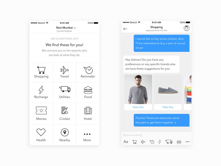 24 best UX - Chatbots images on Pinterest Ui ux, Mobile ui and - access request form