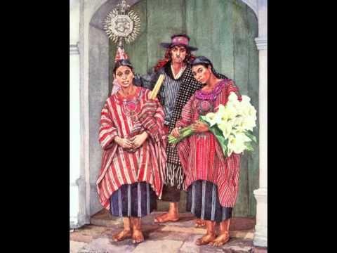 Trachten aus Guatemala / trajes típicos de Guatemala - YouTube