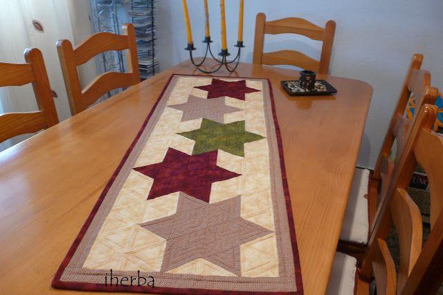 1000 ideas about patchwork navidad on pinterest for Como hacer caminos de mesa modernos