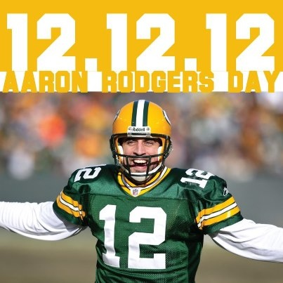 HAPPY AARON RODGERS DAY! 12/12/12