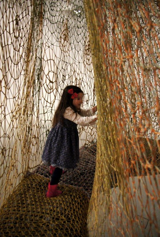 HOT: The Island Bird by Ernesto Neto, 3rd floor, NGV International, 180 St Kilda Rd, Melbourne bit.ly/islandbird