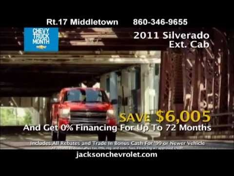 It's Truck Month at Jackson Chevrolet and that means great savings on 2011 Chevy Silverados. You'll also find great savings on 2012 Equinox too!