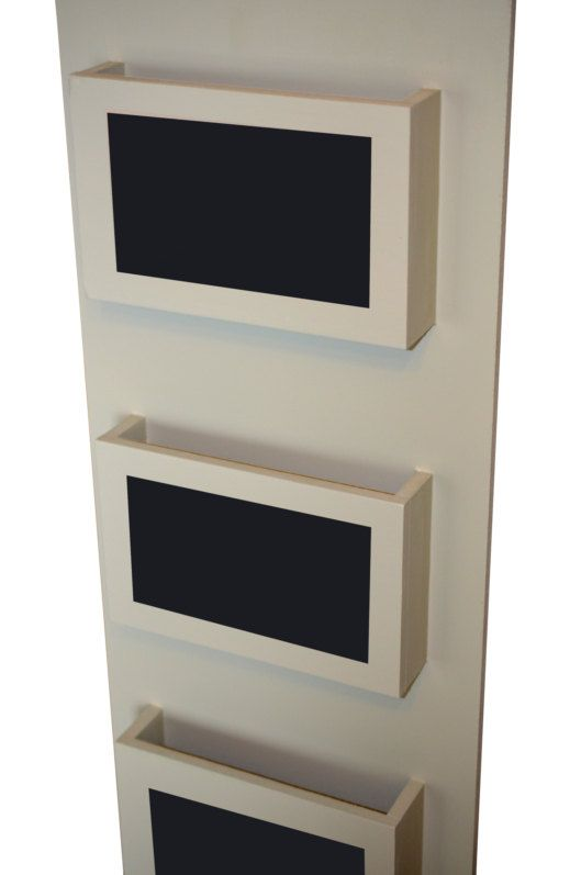 Mail Organizers Hanging Folders Spring Cleaning Chalkboard