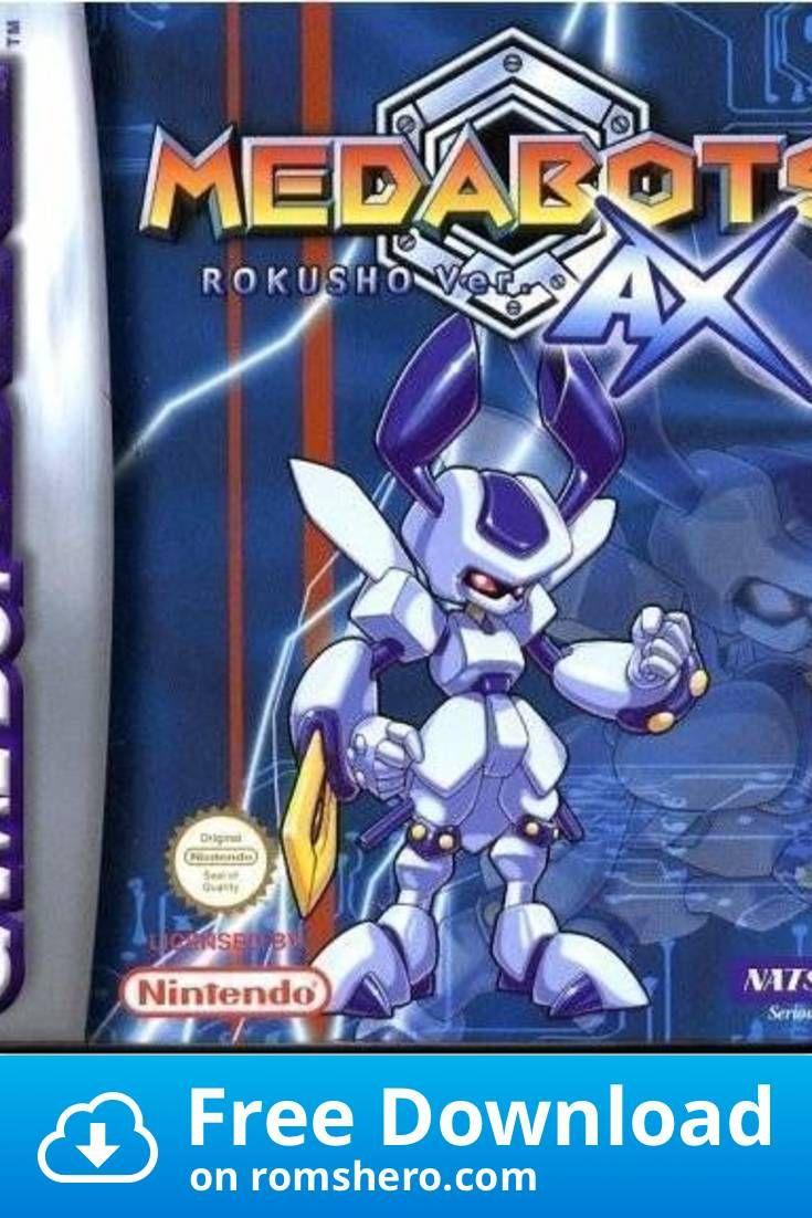 Download Medabots AX Rokusho Version Gameboy Advance