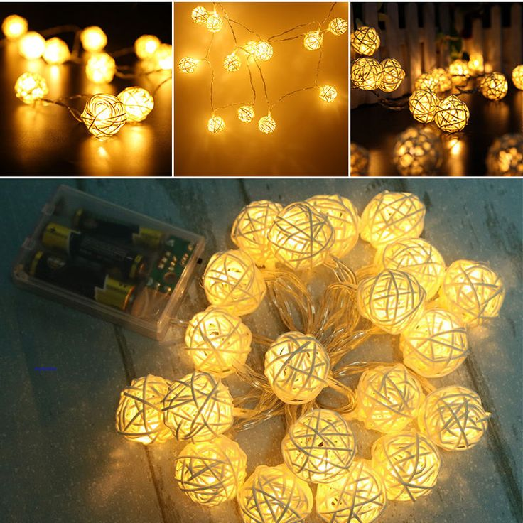 Rattan Ball String Lights Target : 1000+ ideas about Led String Lights on Pinterest String Lighting, Light Led and Buy Led Lights