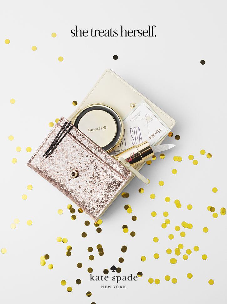 featuring the glitter bug darla and the kiss & tell compact. #getgifted