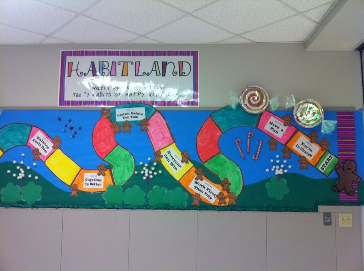 Stone oak elementary 7 habits bulletin board 7 habits for 7 habits decorations