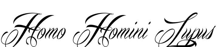 Homo Homini Lupus Tattoo