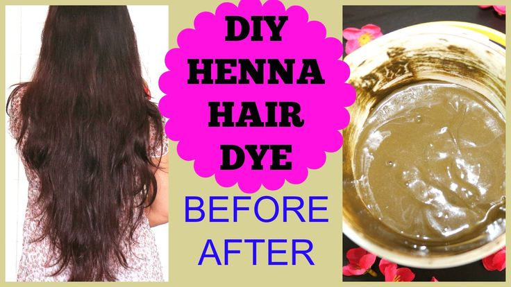 How To Apply Henna On Hair at Home,Henna Hair Before After Results