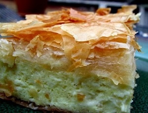 Tiropita - Greek Cheese Pie: was just as good as the piece I bought at a local Greek festival! Yummy with tomato soup.