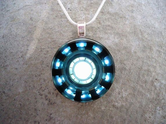 Iron Man - Marvel Jewelry - GLASS photo pendant - Photo Jewelry on Etsy, $10.00