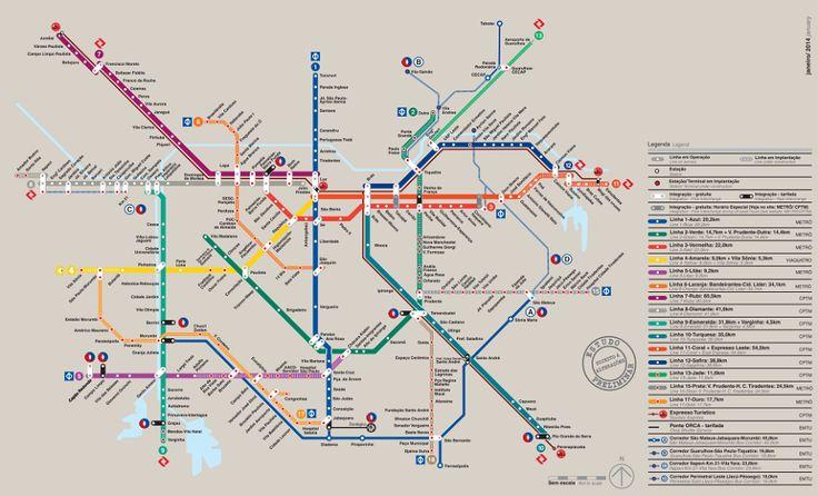 Que tal o metrô em São Paulo daqui 7 anos? Se sair como no projeto, ficará muito bacana!