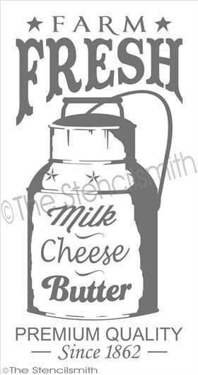 farm fresh milk cheese butter stencil can vintage farm fresh milk stencils stencils printables on farmhouse kitchen quotes free printable id=85772