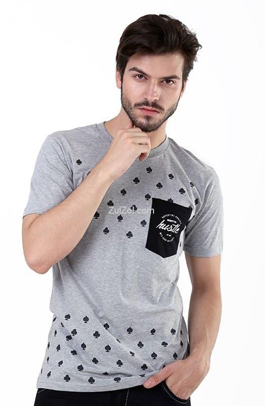 Kaos pria H 0034 adalah kaos pria yang nyaman untuk dipakai, bahannya bagus dan modelnya trendy, yang terbuat dari bahan combed cotton, kaos pria ini tersedia warna abu-abu. Adapun untuk ukuran kaos...