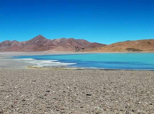 Laguna Diamante. Catamarca. Argentina