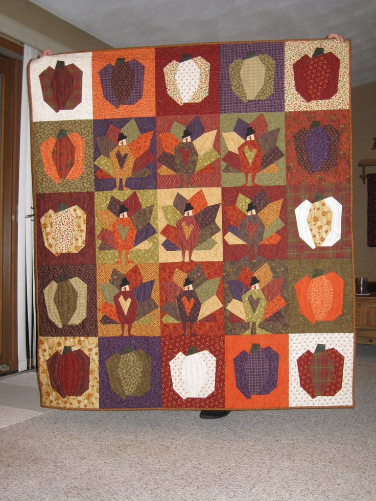 Crazy Tom Turkey Pattern By Buggy Barn My Quilts